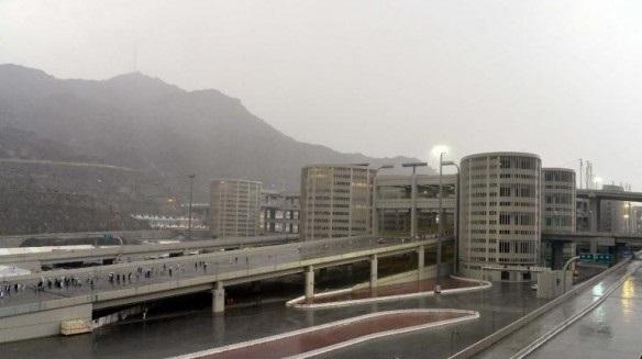 توقع أمطار على العاصمة المقدسة وعرفات ومزدلفة حتى العاشرة