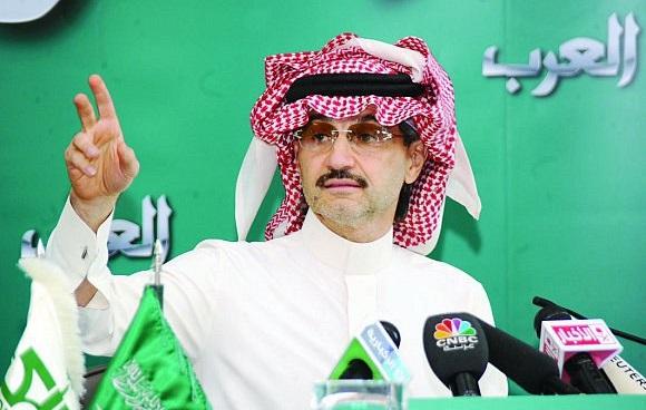"""يطلق الأمير الوليد بن طلال غدا الأحد قناته الإخبارية الجديدة """"العرب"""""""