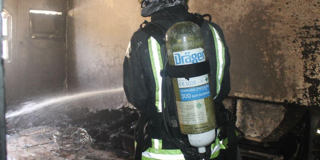 وفاة 6 عمال وإصابة آخر في حريق منزل شعبي بحائل