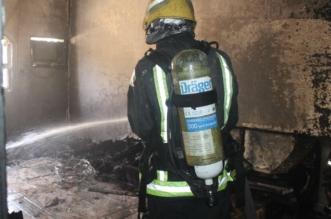 وفاة 6 عمال وإصابة آخر في حريق منزل شعبي بحائل - المواطن
