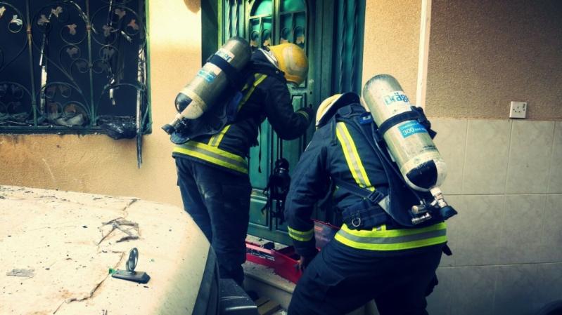 حريق بريدة 2