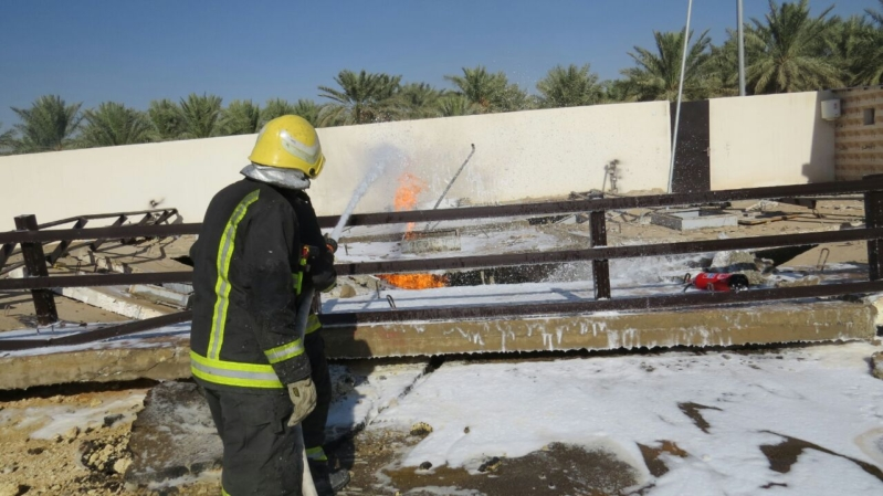 حريق محطة بريدة3