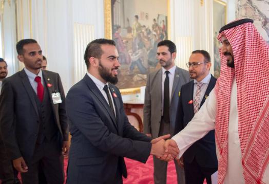 سمو ولي ولي العهد الأمير  محمد بن سلمان يلتقي الطلبة السعوديين في الجامعات اليابانية