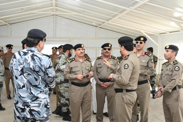 الفريق #المحرج يتفقد مواقع الأمن العام بـ #مكة3