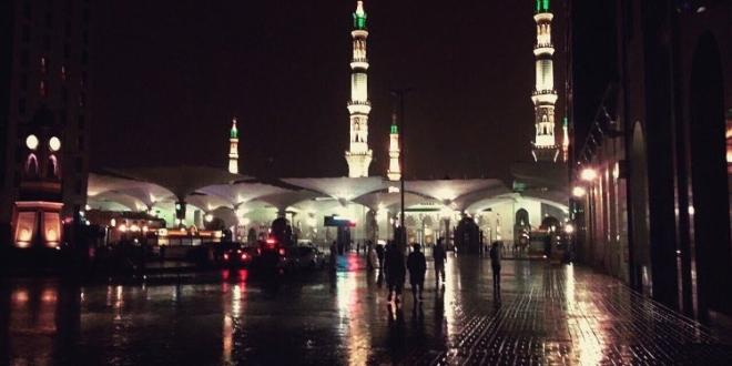 أمطار وأتربة على المدينة المنورة حتى الخامسة صباحًا   صحيفة المواطن الإلكترونية