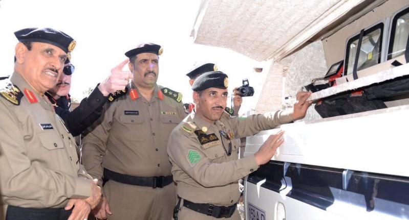 بالصور.. مدير الأمن العام يتفقد إدارات #الشمالية3
