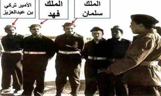 صورة نادرة للملك سلمان يشارك في المقاومة الشعبية بمصر عام 1956