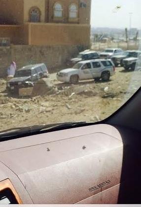 بالصور.. هيئة #خميس مشيط تطارد سيارة وتوقفها بعد صدمها - المواطن