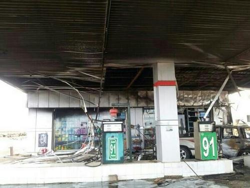 العاصمي: تضرر مركبة ومضختي وقود في حريق محطة البرك - المواطن