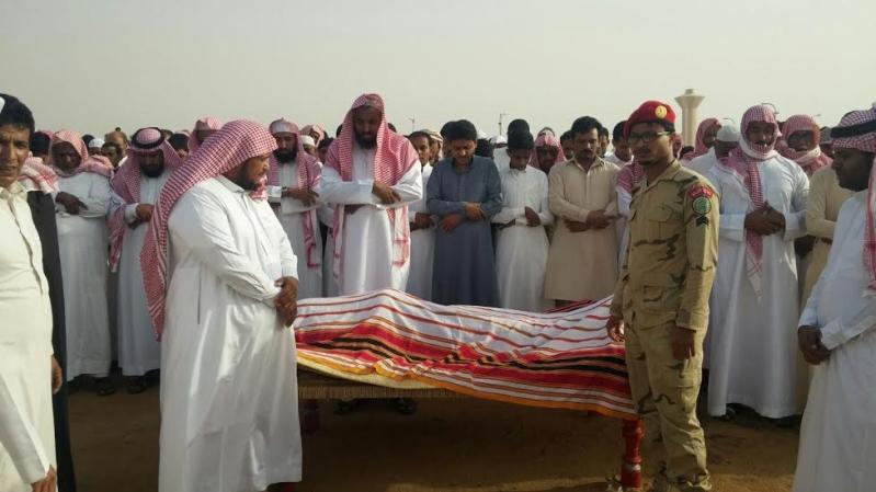 تشييع جثمان الشهيد فيصل القيسي بـ #جازان333