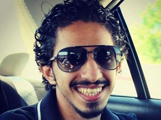 الطالب عبدالله القاضي والمبتعث إلى كاليفورنيا