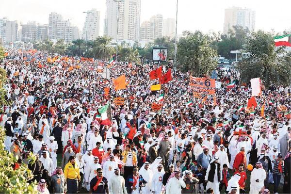 المظاهرات الكويتية