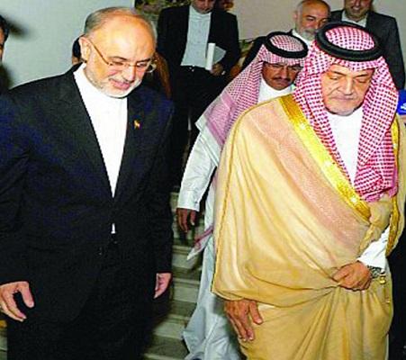 لقاء سعود الفيصل مع ظريف ينتهي بتصريحات متفائلة عن علاقات البلدين