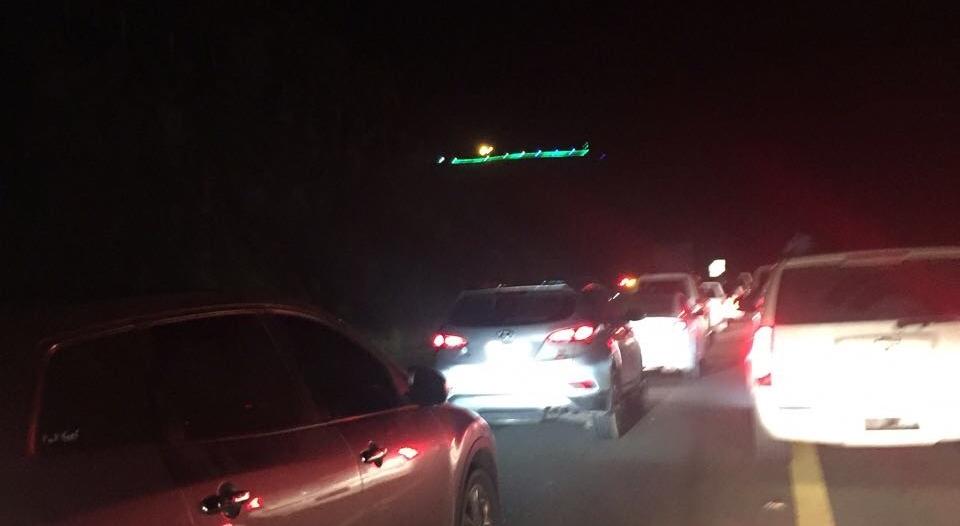 8 إصابات في حادث تصادم مروع بين 3 سيارات في المجاردة