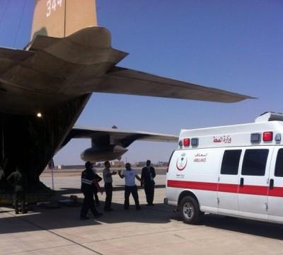 """طائرة إخلاء طبي أردنية تنقل """"العازمي"""" من رفحاء إلى الكويت - المواطن"""