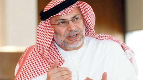 وزير دولة الإمارات للشؤون الخارجية، أنور قرقاش
