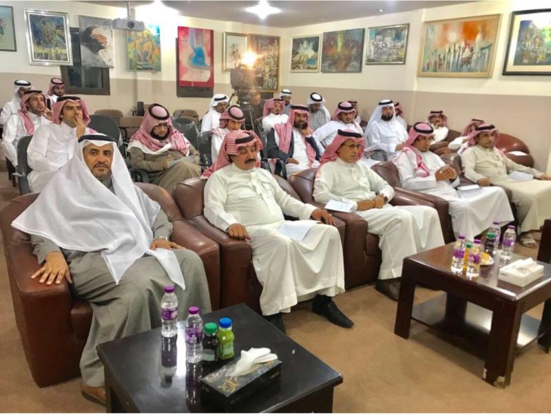 عبدالله حامد وآل شائع يحاضران عن أدب الرحلة وفن التجريد - المواطن
