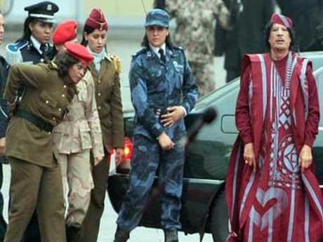حريم القذافي