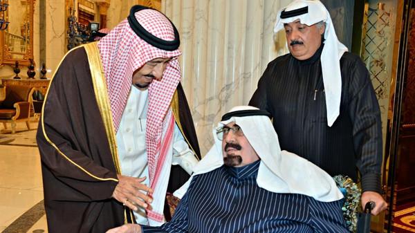 آخر صور التقطت للملك عبدالله بن عبدالعزيز قبل وفاته - المواطن