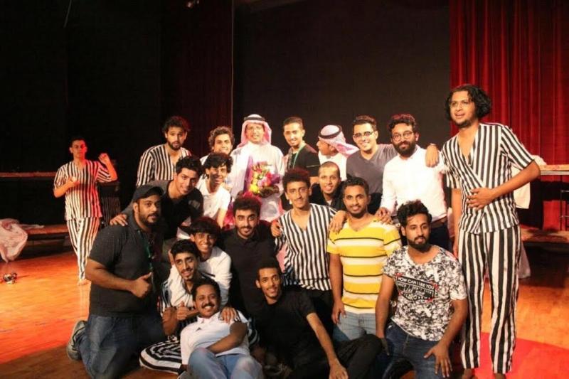 4 جوائز لمسرح جامعة جازان بمهرجان الجنادرية 1