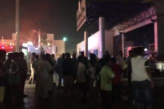 """""""المواطن"""" ترصد بطولات وتضحيات في #حريق_مستشفى_جازان_العام - المواطن"""