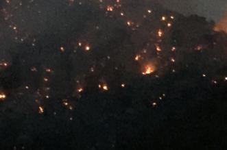 بالصور.. اِستمرار مكافحة حريق منذ الأمس بقرية الحنشة في ميسان - المواطن