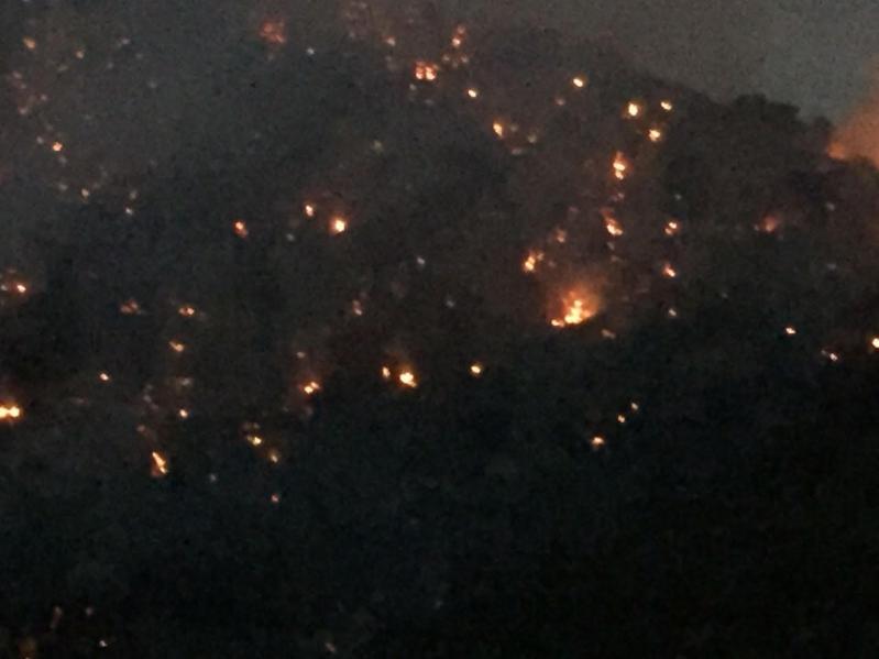 حريق ميسان