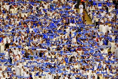 جماهير نادي الهلال  السعودي