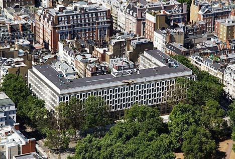 السفارة الأمريكية في بريطانيا