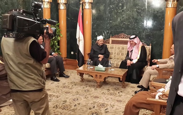 سعود الفيصل يتسلم جائزة الملك عبدالله من الأزهر