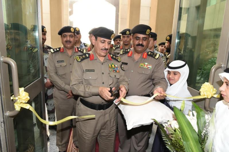 الفريق #المحرج يتفقد مواقع الأمن العام بـ #مكة44