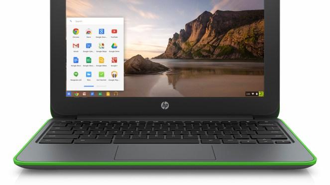 أعلنت شركة إتش بي- اليوم- عن جهازها الجديد HP Chromebook 11 G4 Education Edition44