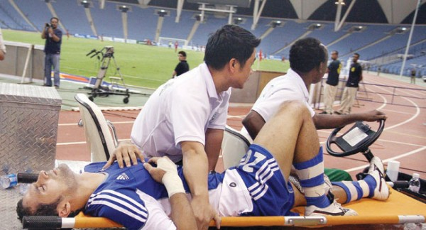 ياسر القحطاني مصاب