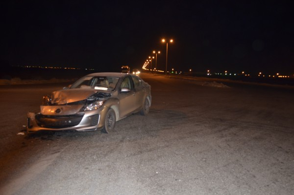 حالة هستيرية وإغماء لشاب بعد حادث بتقاطع في جازان - المواطن