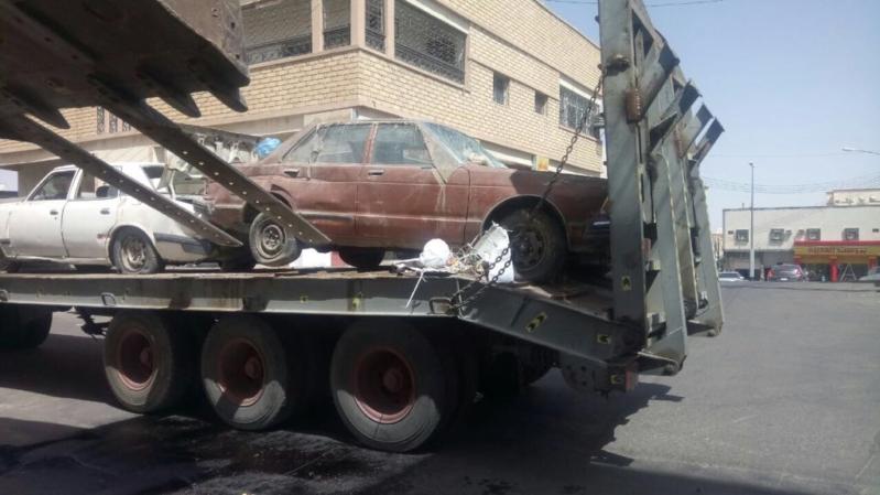 بلدية محايل تُزيل السيارات المتهالكة والتالفة من شوارع المحافظة