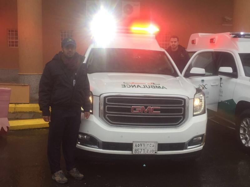 Code Yellow في مستشفى المجاردة بسبب 11 مصابًا في حادث مروري