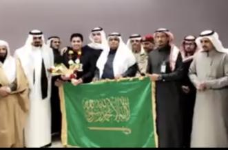شاهد.. قيادات تعليم عسير تستقبل بطل العلوم عبدالعزيز الشهراني - المواطن