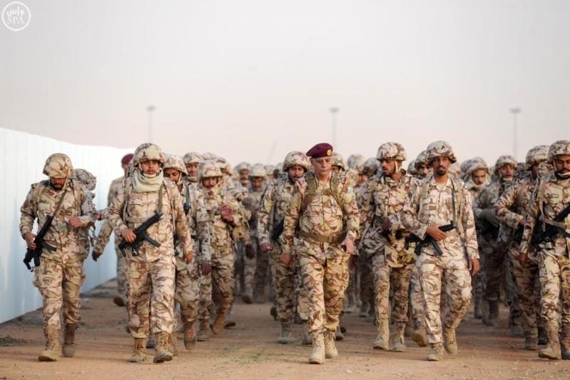 قوات الأمن الخاصة ترفع لياقة ضباطها بمشروع السير الطويل5