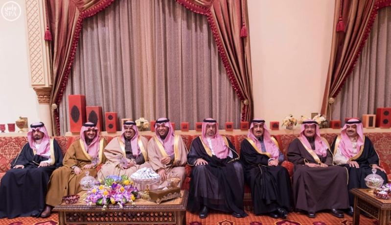 جانب من استقبال خادم الحرمين الشريفين للرئيس الفلسطيني 5