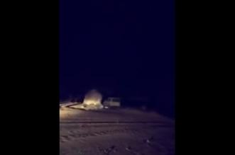"""بالفيديو.. مواطن يوثّق لحظة تحطيمه لسيارته """"الجيب"""" - المواطن"""