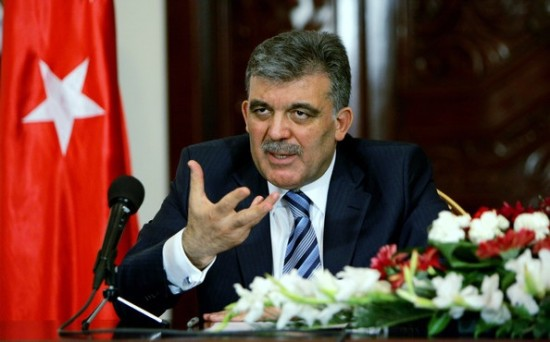 الرئيس التركي، عبد الله غول
