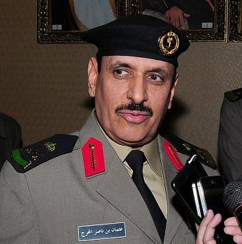 مدير الأمن العام عثمان المحرج