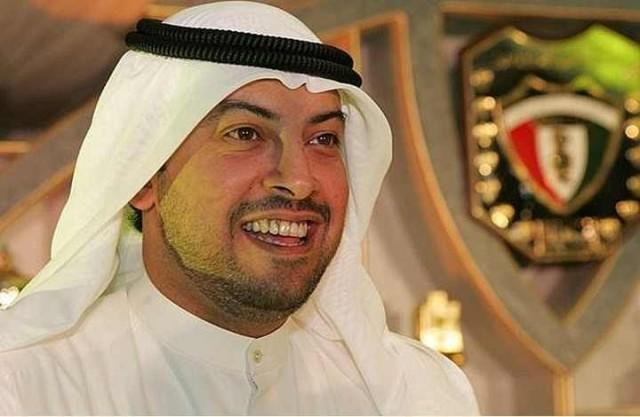 رئيس الاتحاد الكويتي لكرة القدم الشيخ طلال الفهد