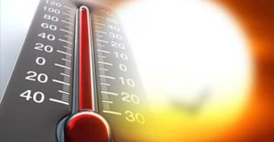 حرارة الشمس على الأرض