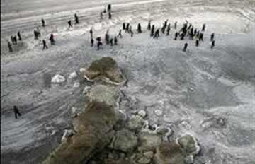 جفاف بحيرة أورميا