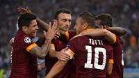 روما يسحق تسيسكا موسكو  بخمسة أهداف