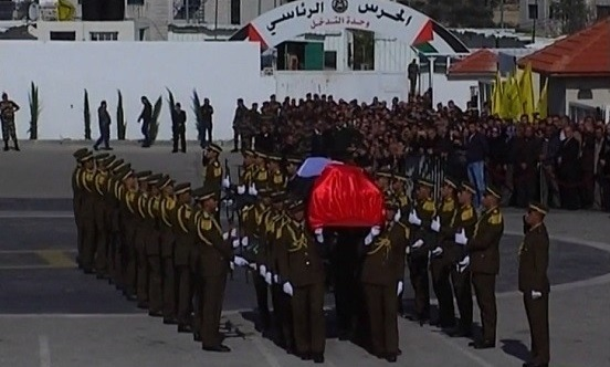 تشييع جنازة فلسطيني