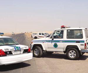 رجال الامن بشرطة محافظة الخفجي أمن الطرق