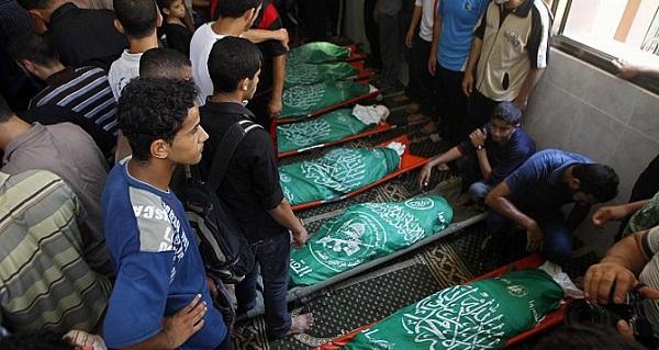 حصيلة قتلى العمليات العسكرية الإسرائيلية في غزة
