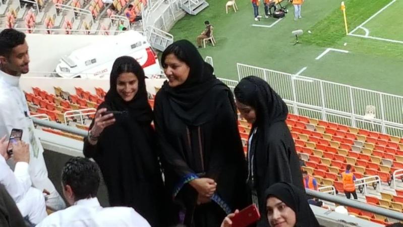 السعوديات يلمعن في سماء الرياضة